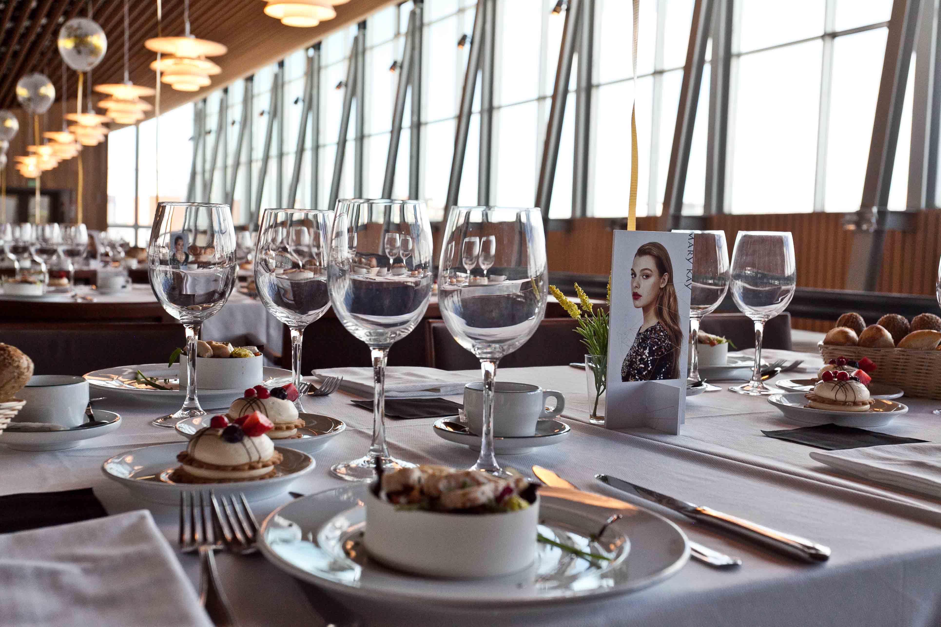 catering y centros de mesa