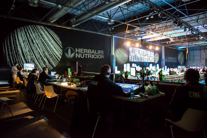 Equipo técnico en Herbalife